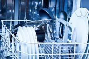 Loaded Dishwasher