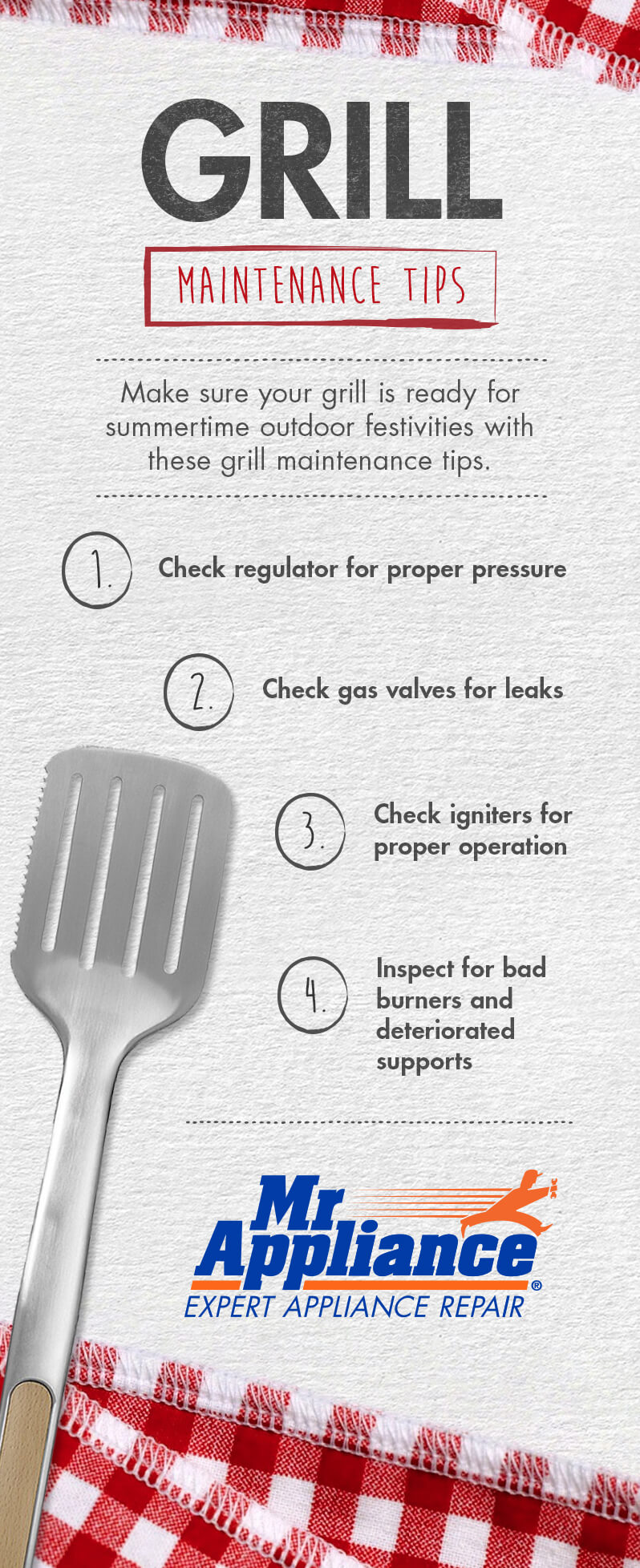 Grill Maintenance Tips Infographic