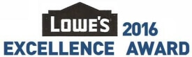 Lowe's 2016 Excellence Award