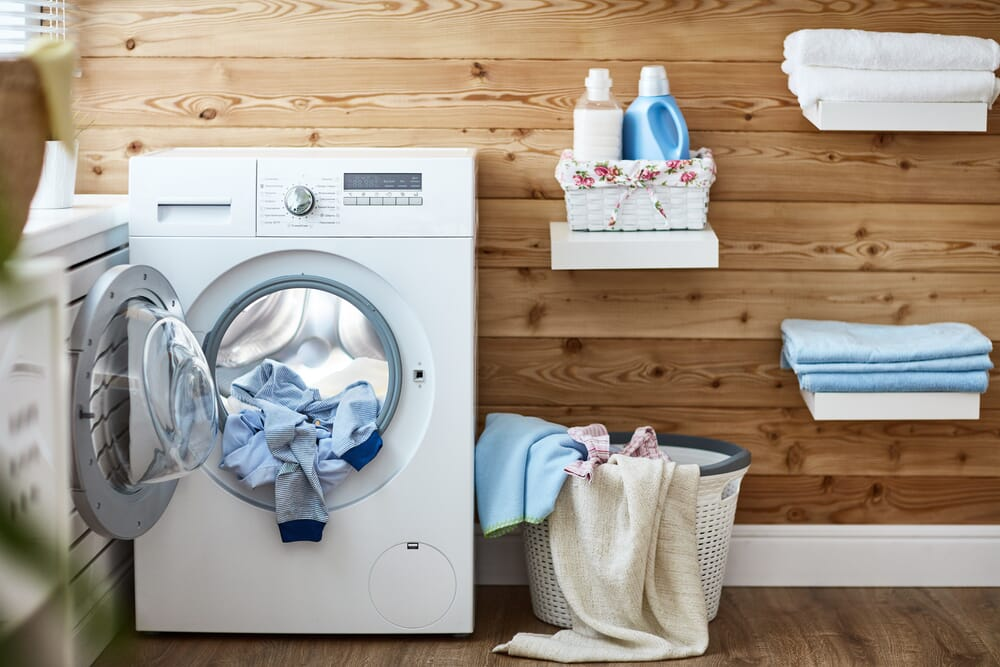 dryer filled with clothes in need of dryer repair technician in memphis, tn